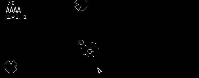 Final Chris Moeller Web Asteroids Screenshot