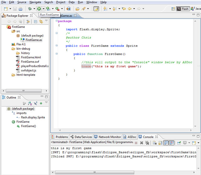 Begining Flash Game Programming and ActionScript Programming Part 2