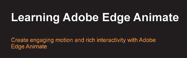 Learning-Adobe-Edge-Animate